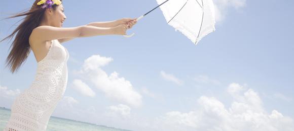 日焼けを予防する3つの方法(^▽^)b