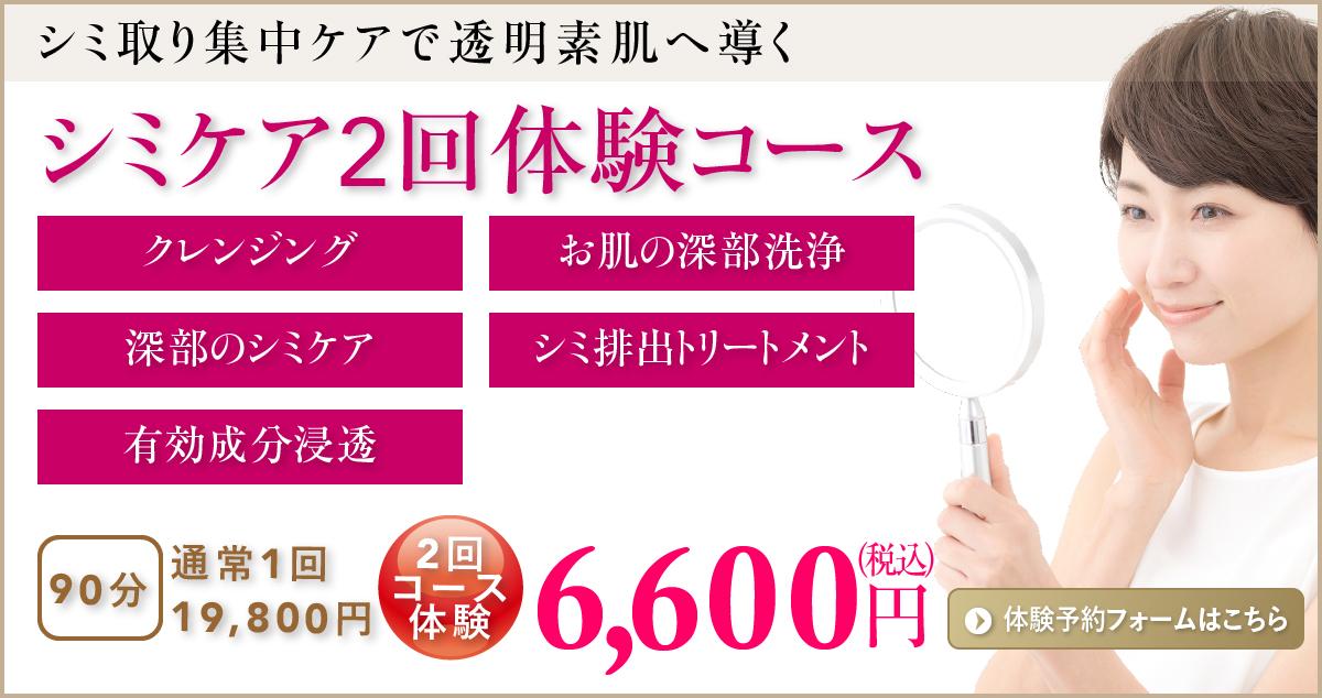 シミケア3回体験コース