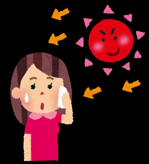 夏に危険な汗アレルギーに注意!