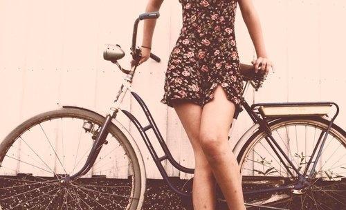 女性のあなた!自転車に乗る時大丈夫?!